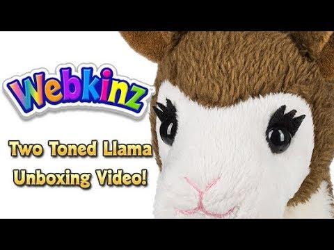 Webkinz Two-Toned Llama Unboxing - NEW Pet February 2018!