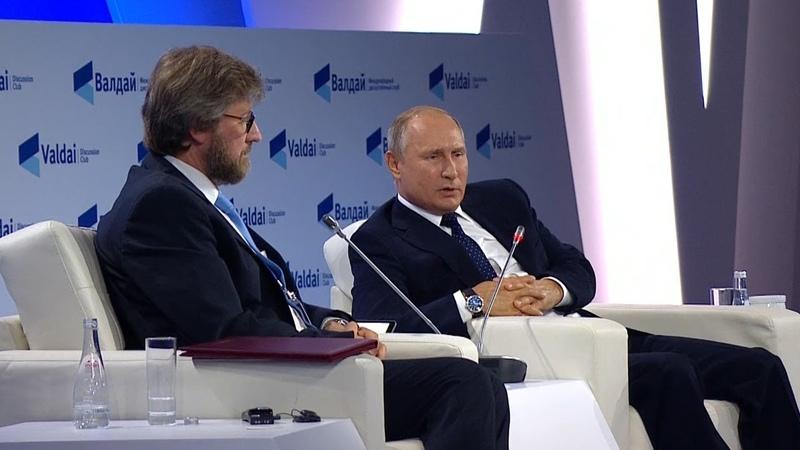 Путин о любви к России