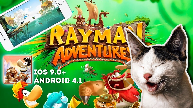 Rayman Adventures - Gameplay iOS. An exciting mix of timeless adventures and breathtaking visuals!