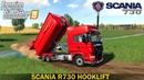 Farming Simulator 19 - SCANIA R730 HOOKLIFT Building a Bridge