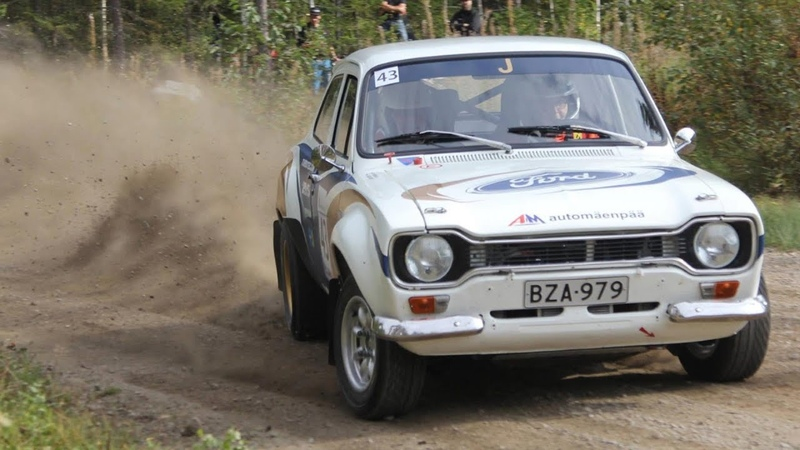 Ford Escort RS1600 BDA - pure rally sound