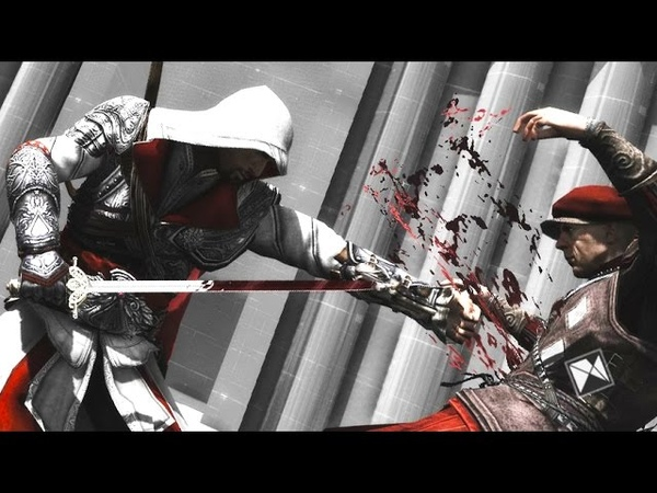 Assassin's Creed Brotherhood Flawless All Weapons Brutal Finishing Moves Counter Kills Ultra GTX 960