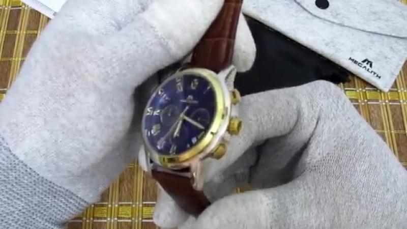 Часы с хронографом MEGALITH 0060