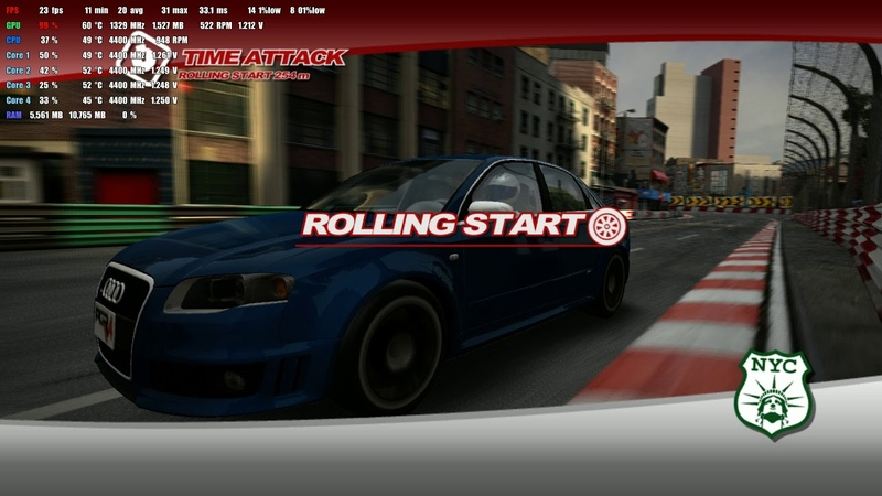 Xenia Project Gotham Racing 4 - i5 4690K, GTX 960 2G, 16Gb ram.