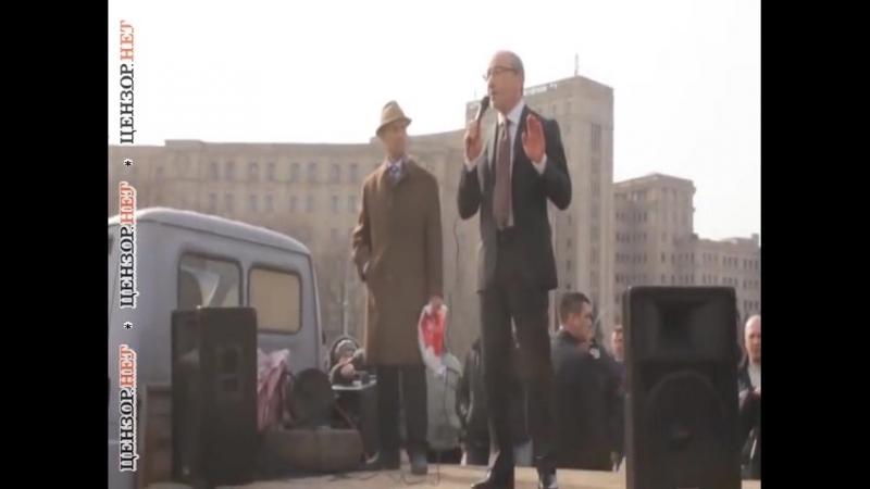 Геша, ты как попугай откуда-то вещаешь! - в сети опубликовано расследование о карьере мэра Харькова Кернеса.
