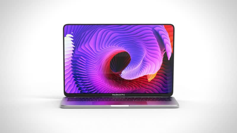 MacBook Pro с безрамочным экраном