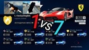 Asphalt 9 : How to win a race against 7 Chirons and glitchy physics ?😄(MP race)