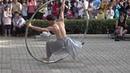 4K 台南市「2017街藝狂饗」街頭表演藝術盛會(台灣星火燎圓Cyr Wheel Ablaze show笑炎舞者蔡 2
