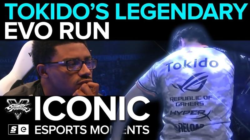 ICONIC Esports Moments Tokido's Legendary Run at EVO 2017 FGC