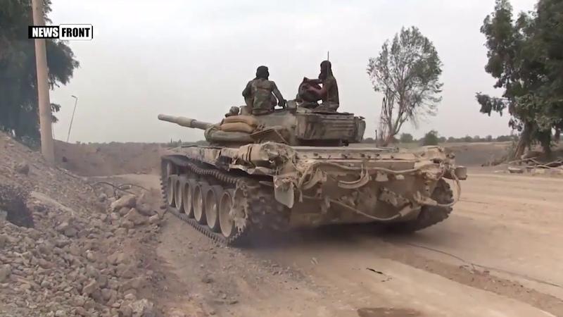 Сирийская армия ведет бой с ИГИЛ в районе Хассарат Дейр эз Зора