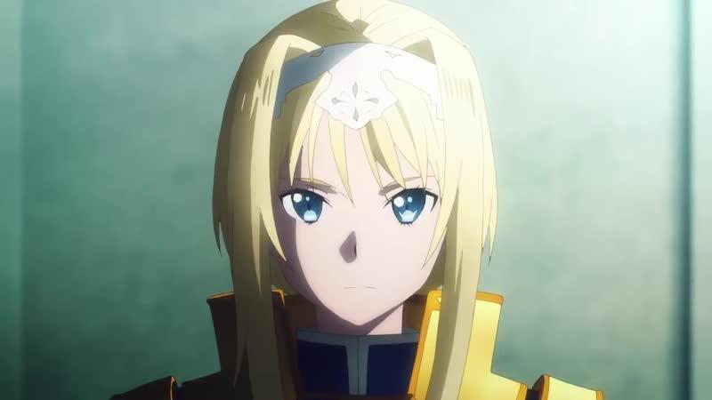 Sword Art Online Alicization превью одиннадцатого эпизода