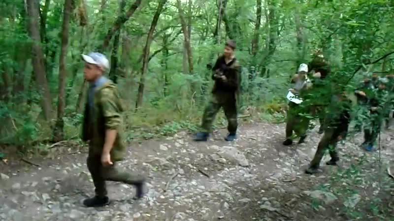 учебно полевой семинар Основы тактической подготовки и действия малых групп в лесистой местности 2