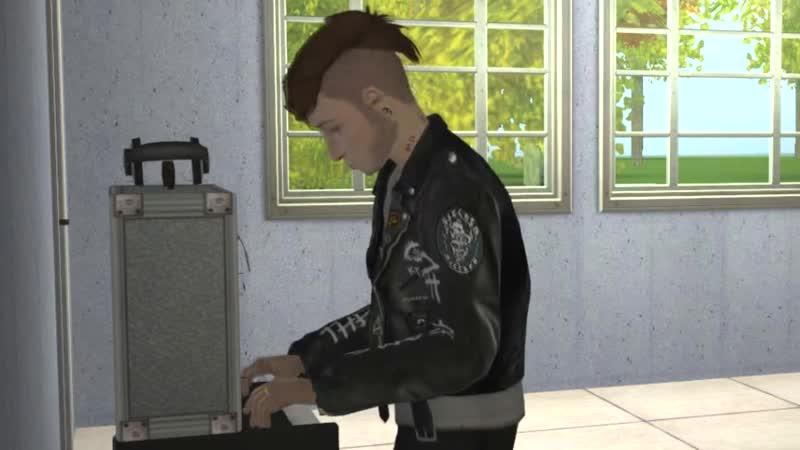 Radiohead - Idioteque (Sims 2 funvideo)