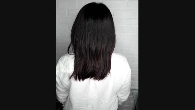 Наращивание волос капсульное для густоты