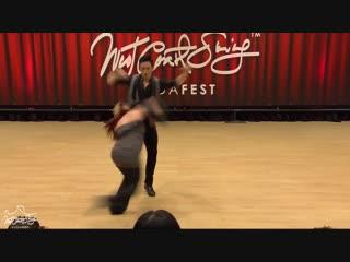 Jordan Frisbee Tatiana Mollmann – Budafest 2019 Pro Routines
