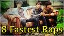8 Fastest 3RACHA Raps Predebut RUS SUB