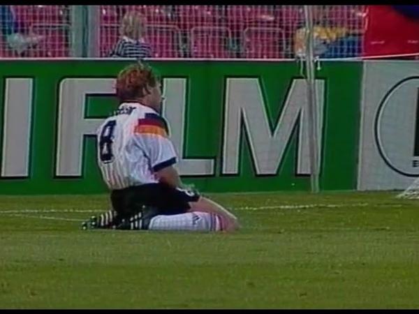 СНГ 1-1 Германия / UEFA Euro 1992 / CIS vs Germany