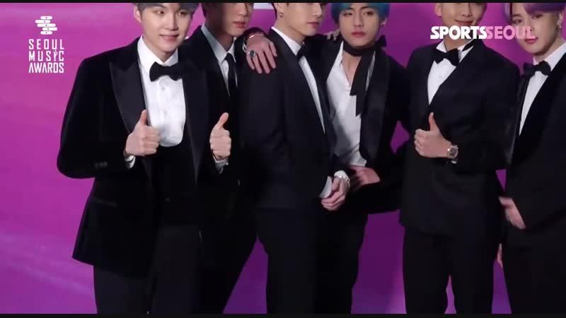 [BTS/PhotoTIME] 190115 28th SEOUL MUSIC AWARDS 2019