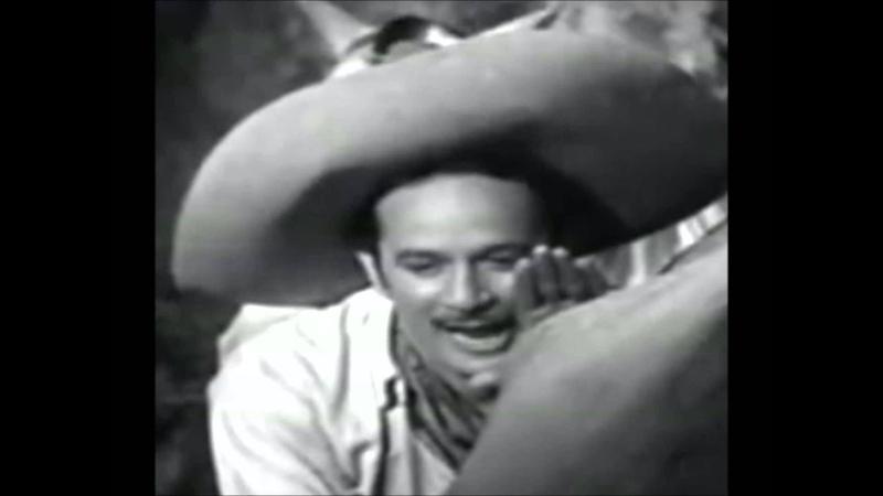 PEDRO INFANTE, Caballo Blanco, (Agapito Treviño).