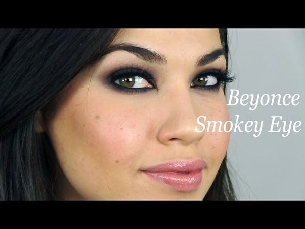 Beyonce Grammy's Smokey Eye Makeup | Eman