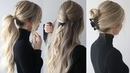 HOW TO EASY HAIRSTYLES w claw clips Claw clip hairstyles