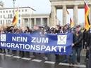 VOR ORT AKTUELL - PROTESTMARSCH ZUM KANZLERAMT. NEIN ZUM MIGRATIONSPAKT ! AM 11.NOVEMBER IN BERLIN.