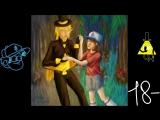 Speedpaint-Gravity Falls-BillFam!Dipper