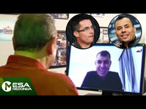 EXCLUSIVO: Carille revela conversas com Jair Ventura e Osmar Loss - Mesa Redonda (30/09/18)