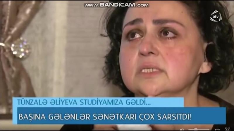 Заслуженная артистка Тюнзаля Алиева Азербайджана: Я не хочу умирать Азербайджан Azerbaijan Azerbaycan БАКУ BAKU BAKI Карабах HD