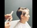 Как подстричь висок в короткой стрижке