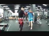 Индивидуальная тренировка Дима - двойка правый прямой в голову - Подготовка бойца. Мурманск