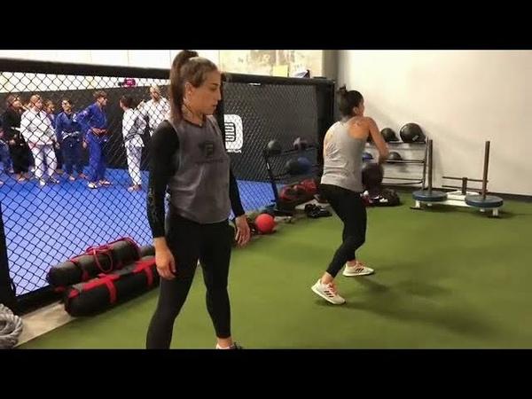 Joanna Jedrzejczyk Workout 14 11 18