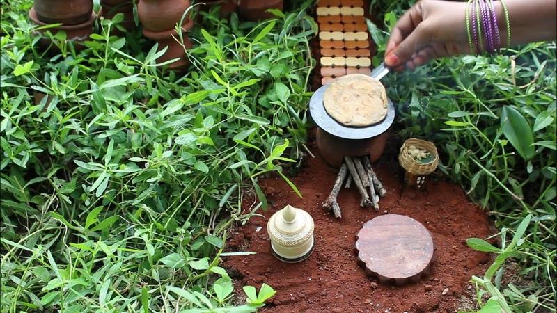 Miniature Aloo Paratha Aloo Paratha Recipe Miniature Cooking 19 mini foodkey