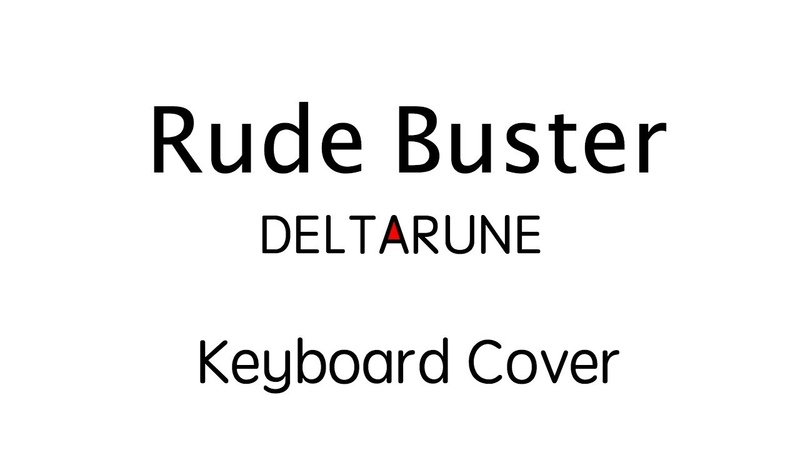 Rude Buster Deltarune Keyboard cover