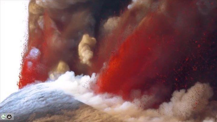 "My Etna Map® on Instagram: ""Etna 12/04/2012 • • • © @marcorestivo etna etnawalk myetnamap catania lava mountain yallerseurope volcano vol..."