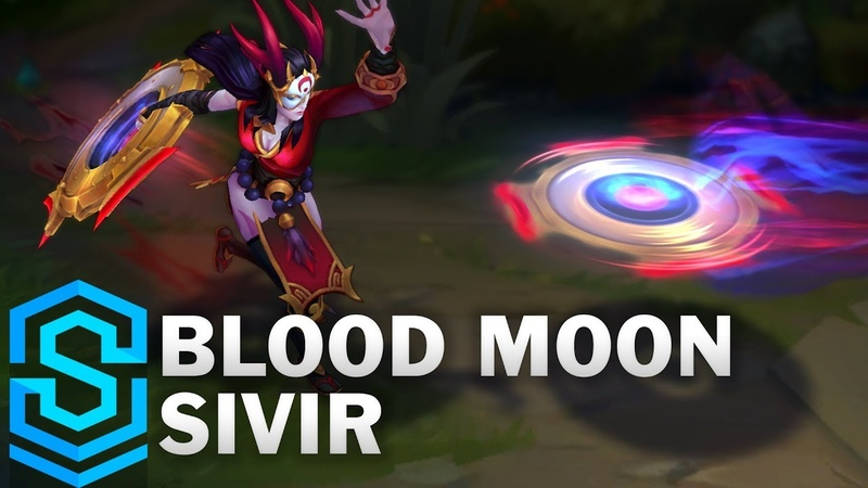 Blood Moon Sivir Skin Spotlight - Pre-Release - League of Legends