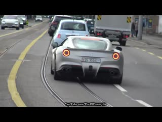 [The19Tommy85] Supercars in Zürich Vol.180 - Huracan Performante, Ford GT, GT3 RS, F12, R8 V10, AMG GTR, AMG GT63s!