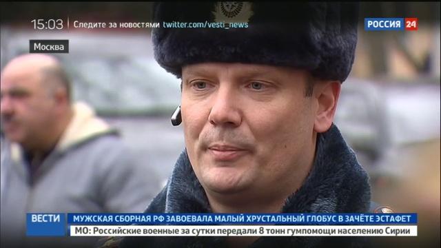 Новости на Россия 24 • Спасаясь от огня, москвичка прыгнула с 8-го этажа