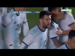 Argentina vs nicaragua - highlights & goals - friendly 2019
