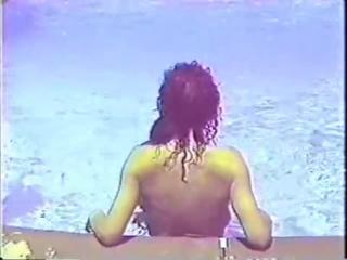 Oldie - Black Ebony Ayes vs White Angela Parker, later Melis