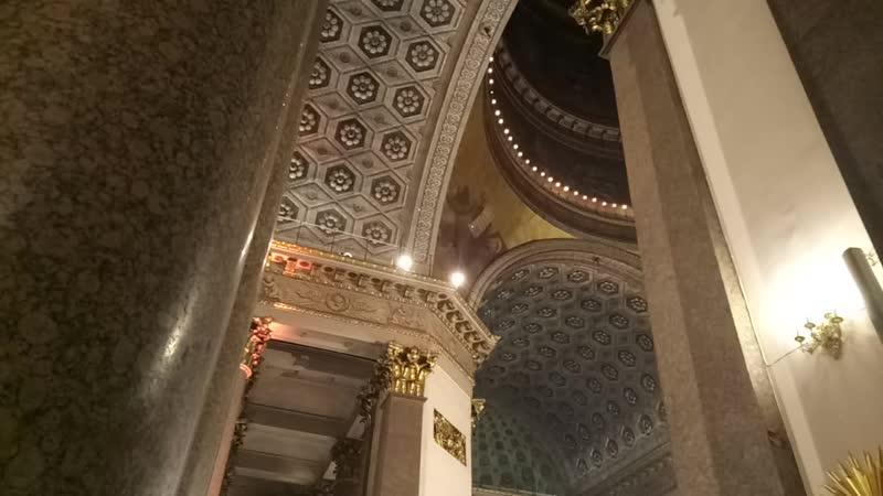 Рождественское богослужение в Казанском кафедральном соборе в ночь с 6 на 7 января 2019 г. Здесь мы встретили Рождество!