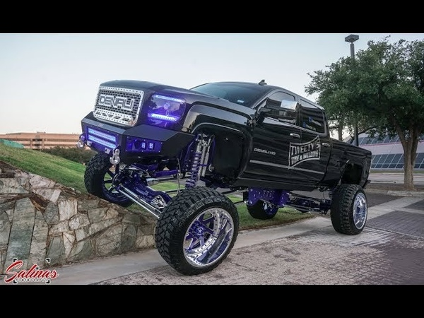 How a SEMA Diesel is Built 20 inch lift on 26x16 AFW 8 minute recap of start to finish