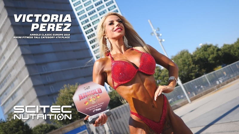 Victoria Perez Arnold Classic Europe 2018 Bikini Fitness tall category 4th place