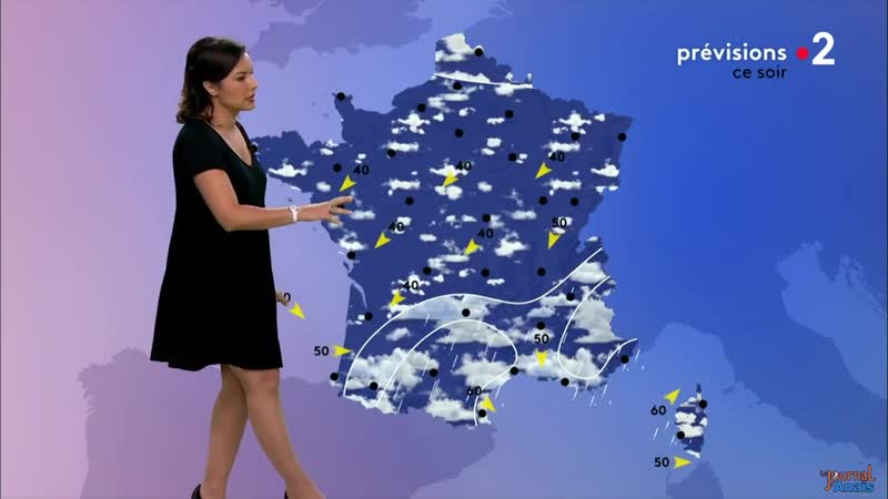 Прогноз погоды (France 2 [Франция], 09.07.2019)