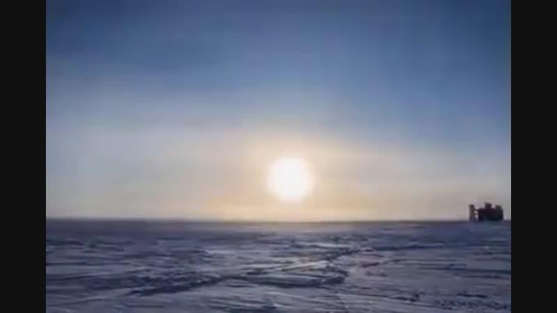 Движение Солнца на южном полюсе лeтoм 🌎 Discovery 🌎