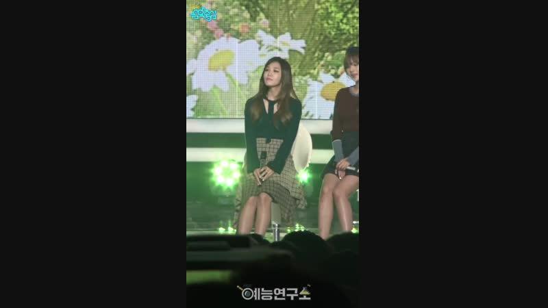 (161001) Music Core Fancam: Ding Dong (Eunji)