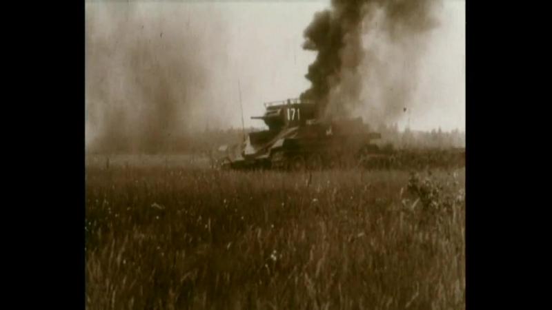 Война на Западном направлении (1990). Бой между вермахтом и РККА с участием бронетехники