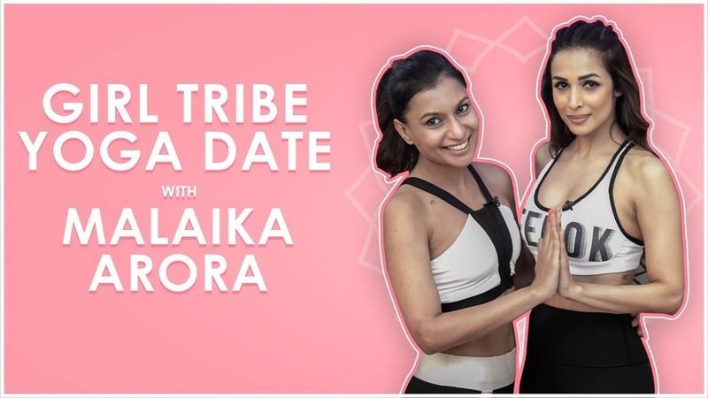 Yoga Date with Malaika Arora Malinis Girl Tribe | MissMalini