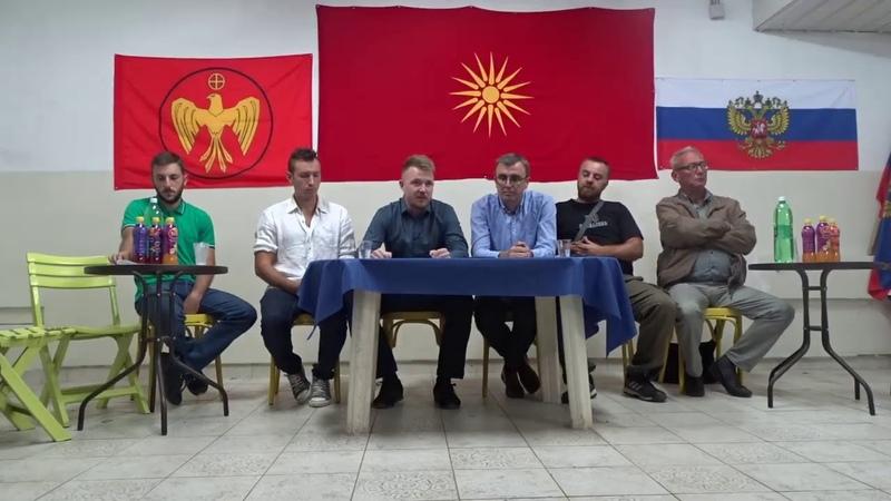 Подписание меморандума об объединении и сотрудничестве между РУСОВ и МиР. Скопье, 1.10.2018г.