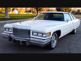 Автомобиль Cadillac DeVille DElegance, 1975 года